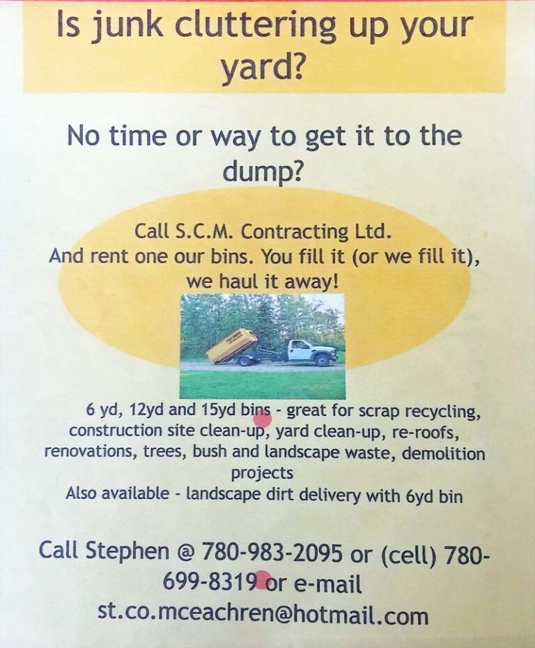 Is Junk Cluttering Up Your Yard