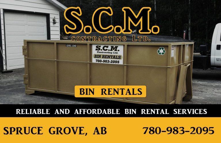 Spruce Grove Waste Bin Rentals