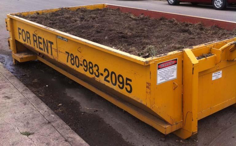 Stony Plain Dumpster Bin Rentals